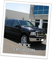 Edmonton Limo Black Excursion