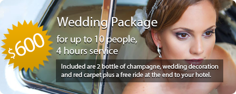 Wedding Limo Package